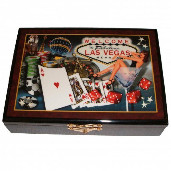 комплект карти в луксозна кутия
