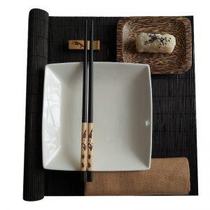 комплект за суши кокосово плато