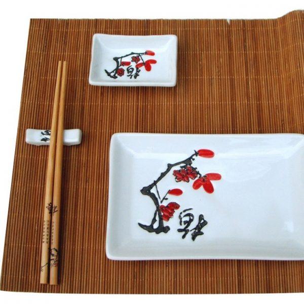 суши комплект бяло Японска вишна