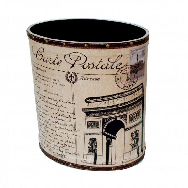 кутия за хартия арт кожена