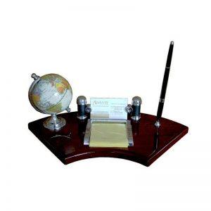 Органайзер за бюро с химикал и глобус