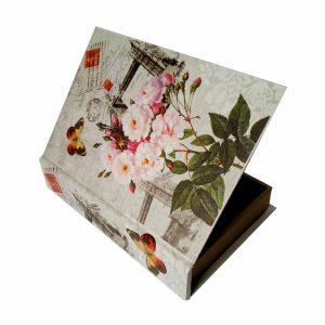 цветна кутия с цветя