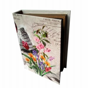 арт кутия с цветя