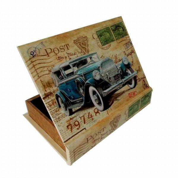 цветна кутия с кола