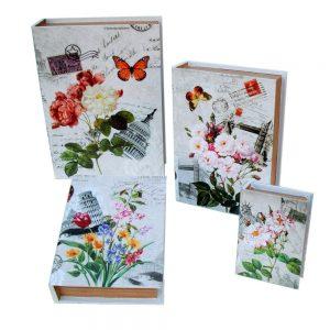 кутии с цветя комплект