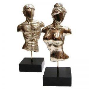 дизайнерски фигури на мъж и жена