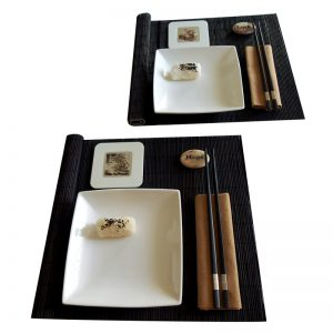 суши комплект камък