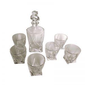 комплект луксозен стъкло